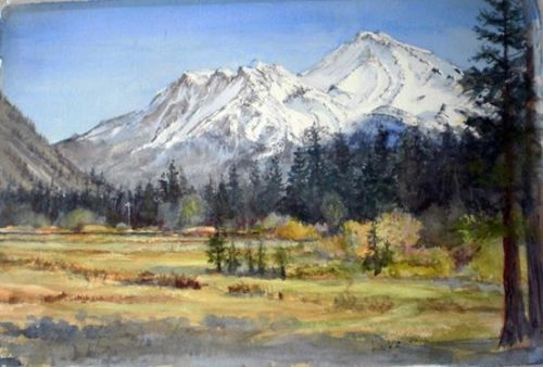 Plein Air and Abstract Paintings by Howard Luke Lucas Featured Artist North Valley Art League