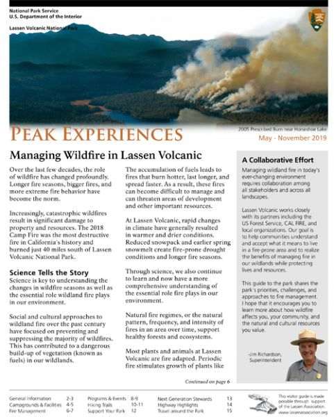 Lassen Park Newspaper Summer 2019