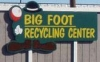 Big Foot Recycling Center in Shingletown