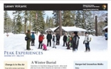 View Lassen Volcanic National Park's Winter Newspaper Online